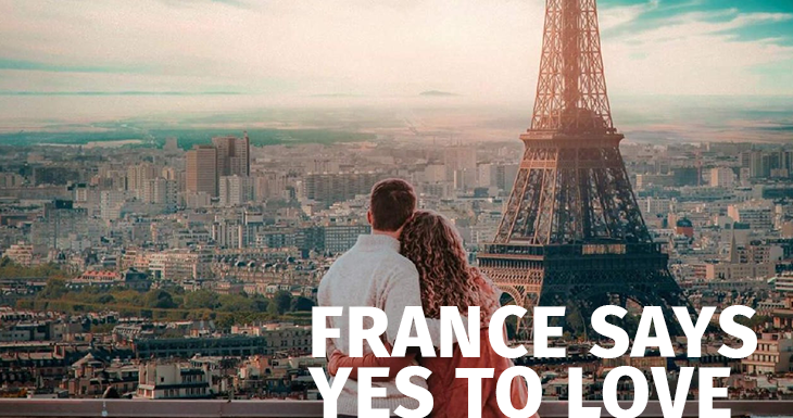 This virus does not like love, the French YES!