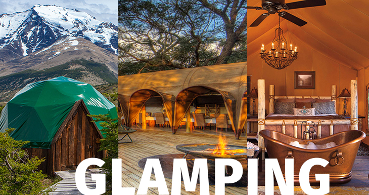 "Glamping"", one of the trends that will prevail post-coronavirus"